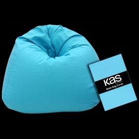 Canvas Beanbag Cover Turquoise