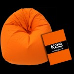 Canvas Beanbag Cover Orange