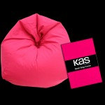 Canvas Beanbag Cover Hot Pink