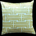 Hattie Gold Square Cushion