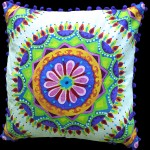 Layla Medallion Cushion