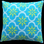 Blue Souk Tile Cushion